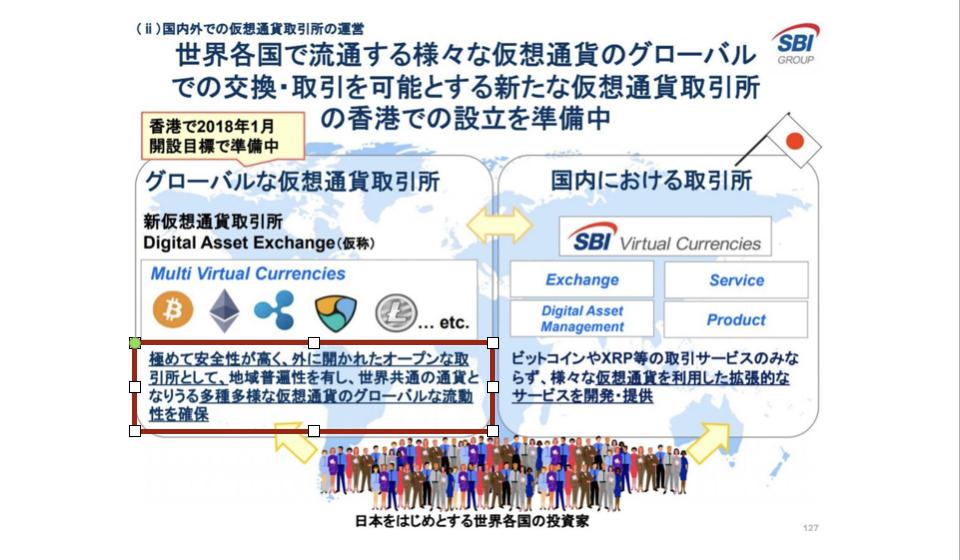 SBIの海外取引所「DAE(Digital Asset Exchange)」の取扱通貨・アルトコイン銘柄