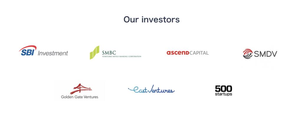 OmiseGoの投資家一覧