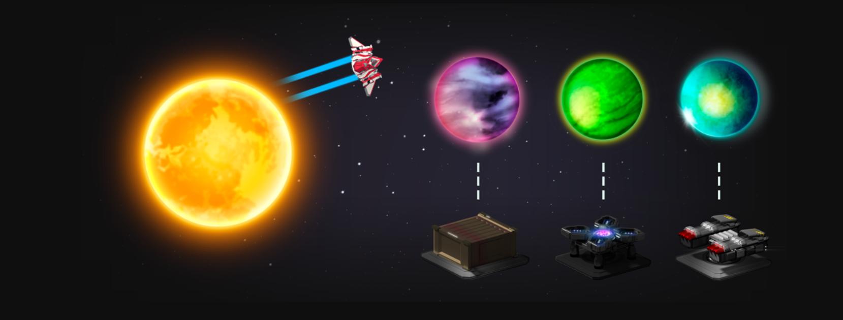 クリプトスペースコマンダー(CSC)ゲーム内容