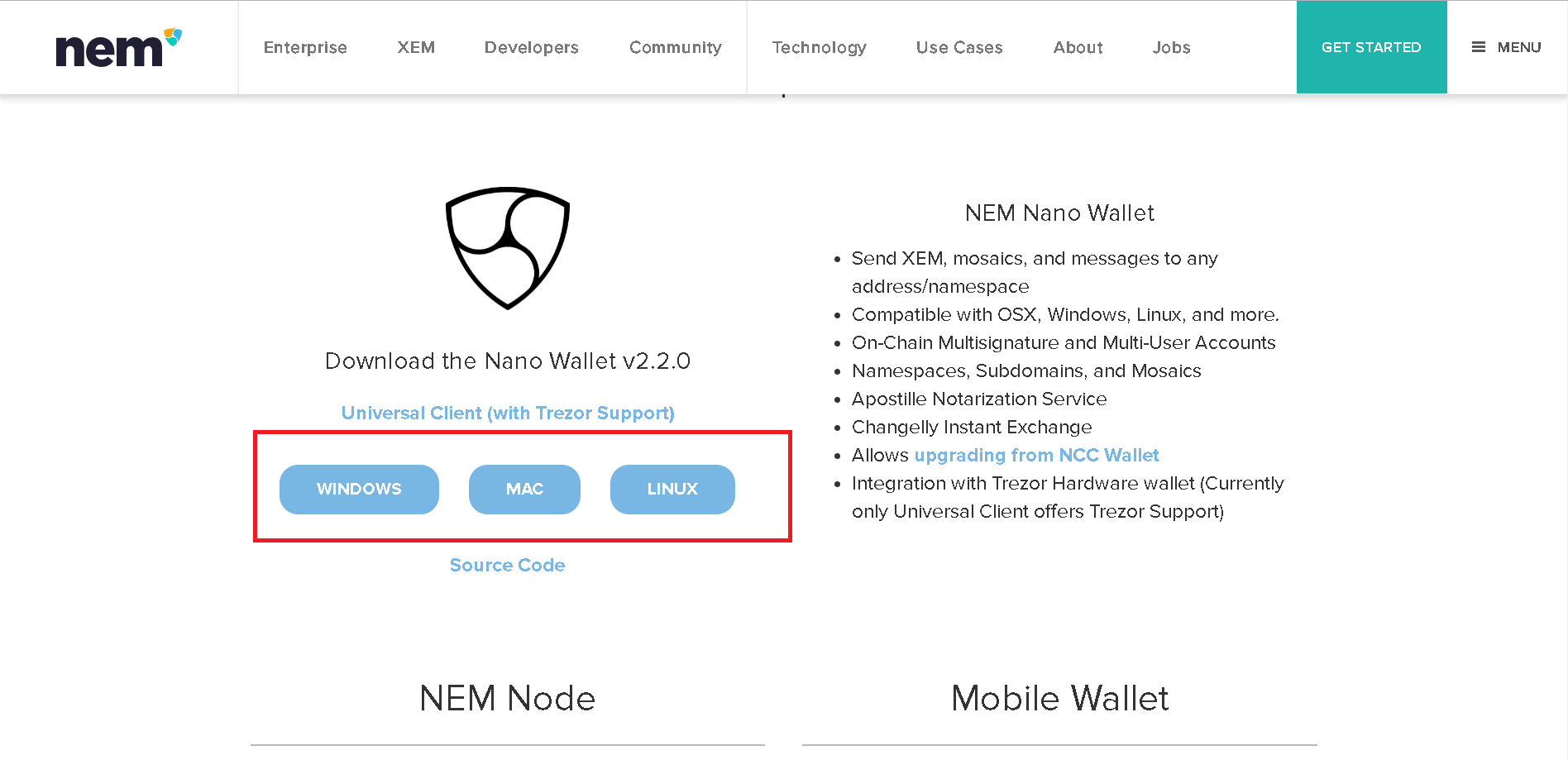 Nano Walletインストール01