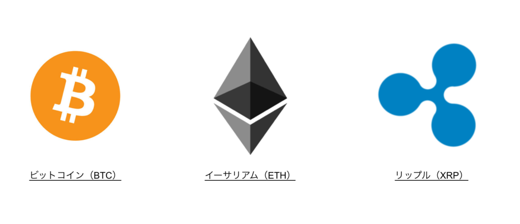 仮想通貨のシンボル比較