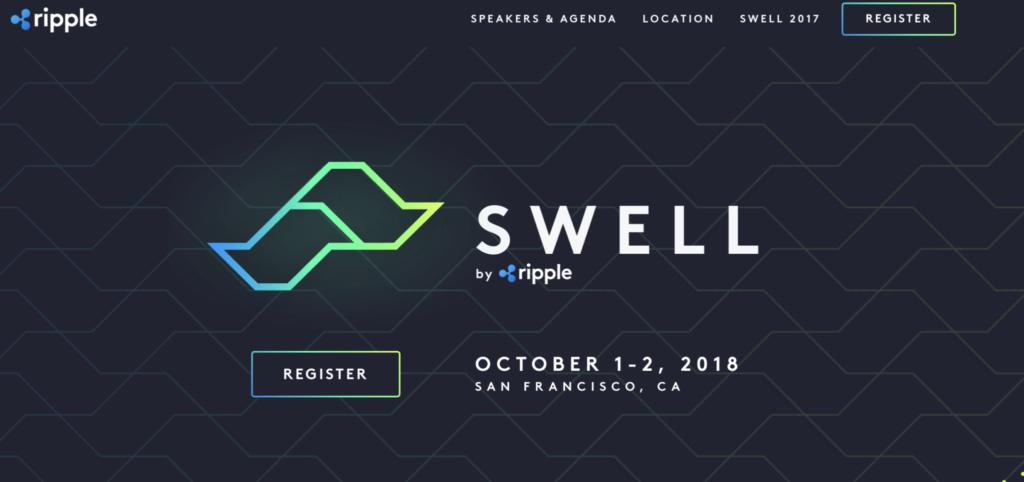 リップル社のイベント(swell2018)