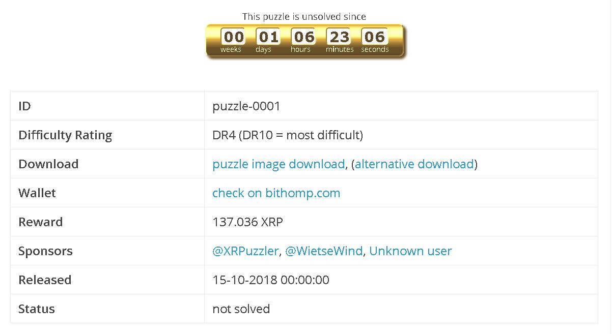 パズルを解いてXRPをゲット!
