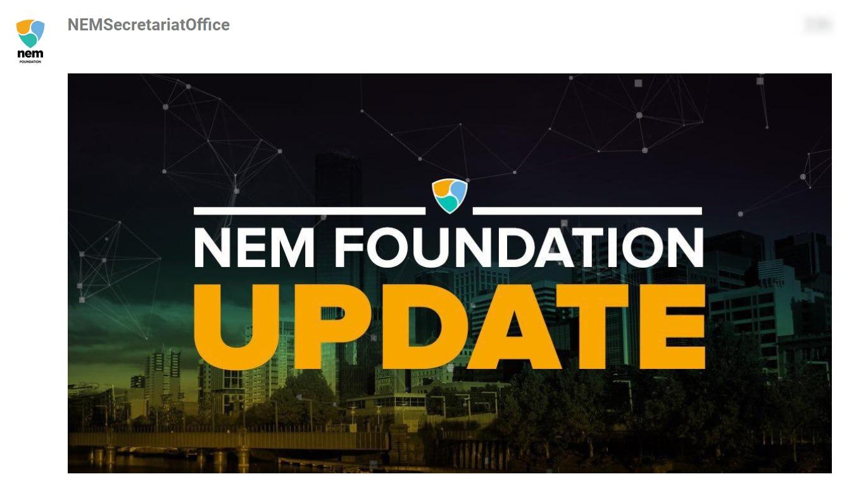 NEM Foundation Update March 2019 Announcements NEM Foundation Updates NEM Forum