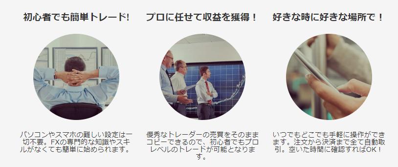 INSTANTRADE_特徴