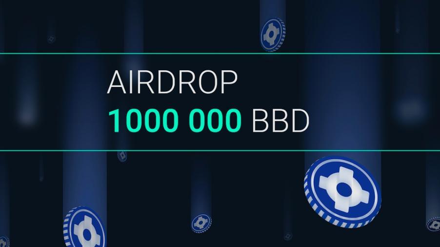 BBOD取引所が最大10,000BBDトークンのエアドロップキャンペーンを開催