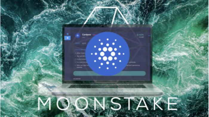 Moonstakeウェブ・ウォレットがCardano (ADA)のステーキング開始