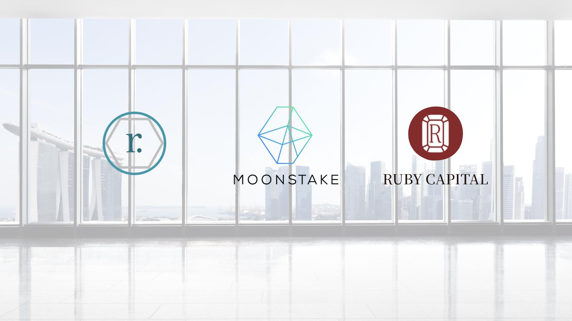 Moonstake(ムーンステーク)がRAMP DEFIとRuby Capitalのパートナーシップを発表